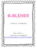 R Blends Activity Packet - NO PREP