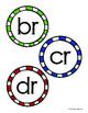 R Blends BUNDLE (3 Centers: Picture Clip Popsicle Cards -16 No Prep Sheets)