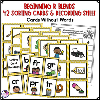 R Blends Beginning Consonant Blends