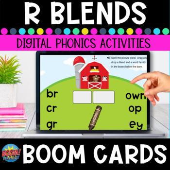 R Blends Boom Cards