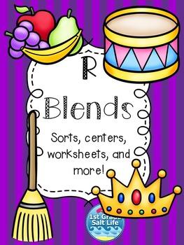 R Blends Activities / R Blends Word Work