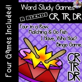 R Blends:CR, DR, TR [[Word Family GAMES!]]