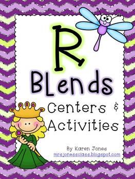 R Blends: Centers & Activities
