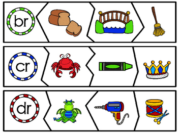 R Blends - Centers and Printables