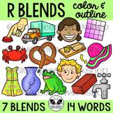 R Blends Clip Art