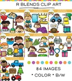 R Blends Clip Art Bundle - Volume One