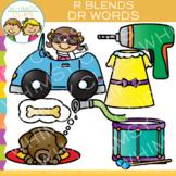 R Blends Clip Art - DR Words - Volume One