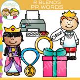R Blends Clip Art - PR Words - Volume One