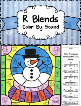 R Blends ~ Color by Sound ~ Snowglobe