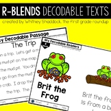 R Blends Decodable Readers and Passages