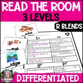R Blends Read the Room/Write the Room (Differentiated)