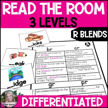 R Blends Differentiated Read the Room