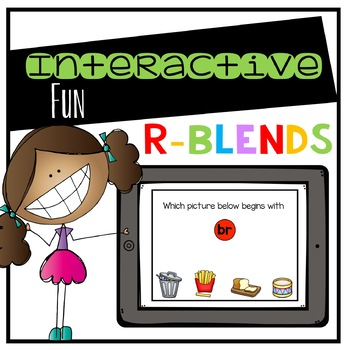 R-Blends Digital Interactive Fun (Digital Classroom)