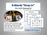 "R-Blends ""Drop-In"" Articulation Game (Use with Connect 4)"