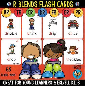 Initial Blends R Cards