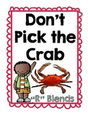 "R Blends Game ""Don't Pick the Crab"""