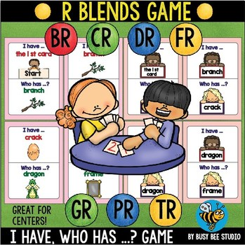 "Beginning Blends R Game ""I have, who has"""