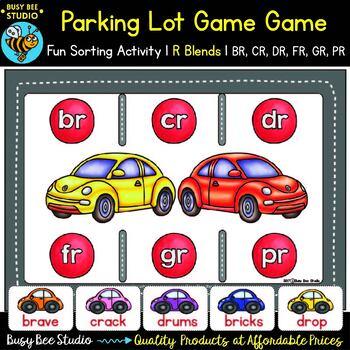 R Blends Game: Parking Lot