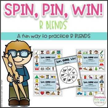 R Blends Game ~ Spin, Pin, Win!