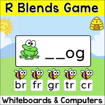 R Blends Game for Smartboards and Computers