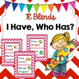 R Blends I Have Who Has? Game