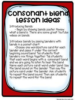 R Blends Lessons and Activites