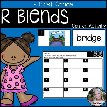 R Blends Literacy Center Activity