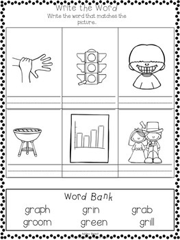 R Blends Literacy Packet