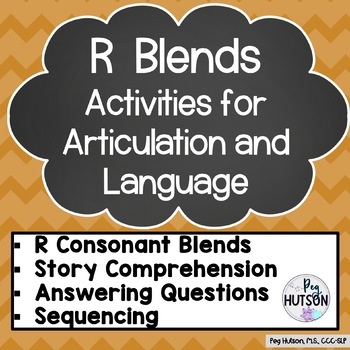 R Blends: Mixed Groups Language and Artic Lessons
