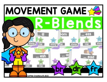 R - Blends Movement Interactive Game - BR, DR, FR