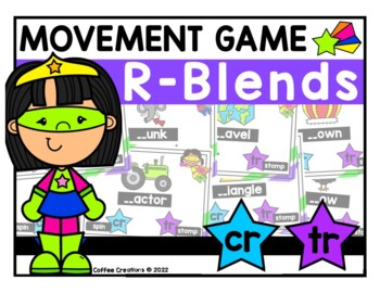 R - Blends Movement Interactive Game - CR and TR
