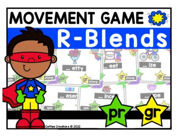 R-Blends Movement Interactive Game  - PR and GR