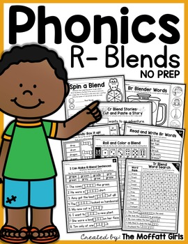 R-Blends NO PREP Packet