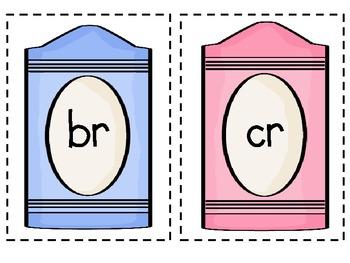 R Blends Pack br, cr, dr, fr