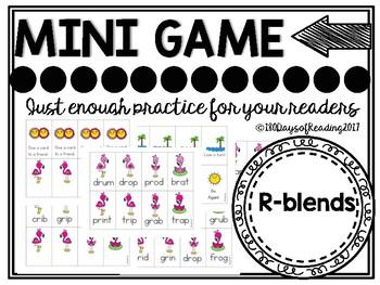 R-Blends Phonics Game