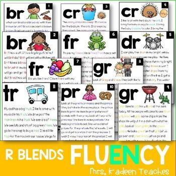 R Blends- Phonics Readers