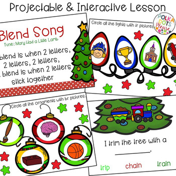 R Blends Projectable Mini-Lesson and Activities