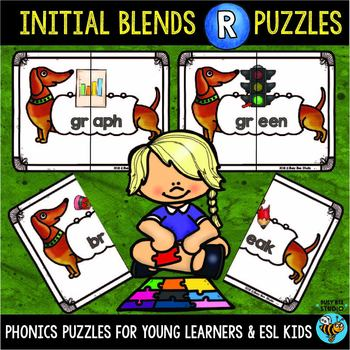 R Blends Activities | Puzzles