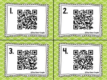 R Blends QR Code Task Cards