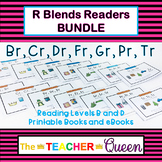 R Blends Readers BUNDLE Levels B and D (Printable Books an