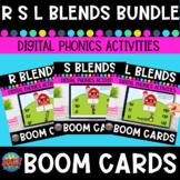 R- Blends S- Blends L- Blends Boom Cards Bundle