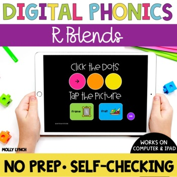 R Blends Sound Tappers - Digital Phonics Learning {PowerPoint Games}
