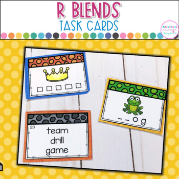 R Blends Task Cards/Scoot Games