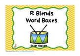R Blends Word Boxes