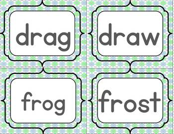 R Blends Word Sort Set { color and B&W versions included}