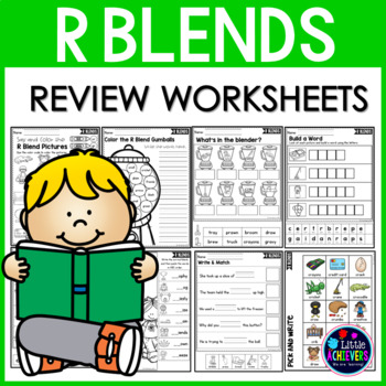 R Blends Worksheets | R Blends Activities