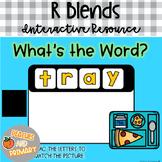 Digital Learning R Blends Write