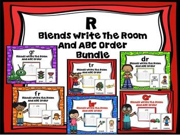 R Blends Write The Room Bundle
