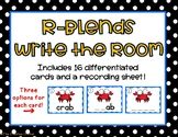 R Blends Write the Room/Word Work Task Cards