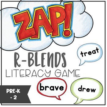 R-Blends - ZAP literacy game